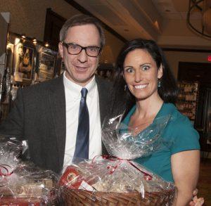 Honorees Dr. Voci and Jennifer Lombardo, PAC