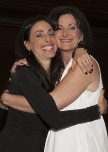 Founder's Honoree Diane Ring with Mindy Eisenberg