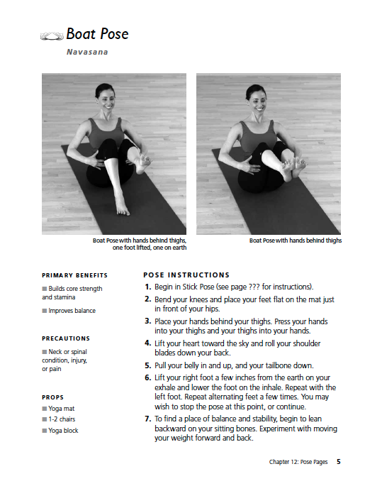 two adaptive yoga poses for those with MS, Parkinson's, and disabilities