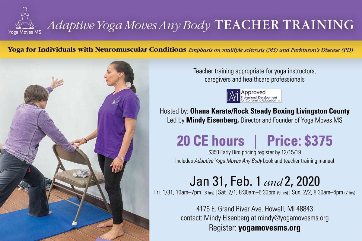 Adaptive Yoga Moves Any Body Teacher Training