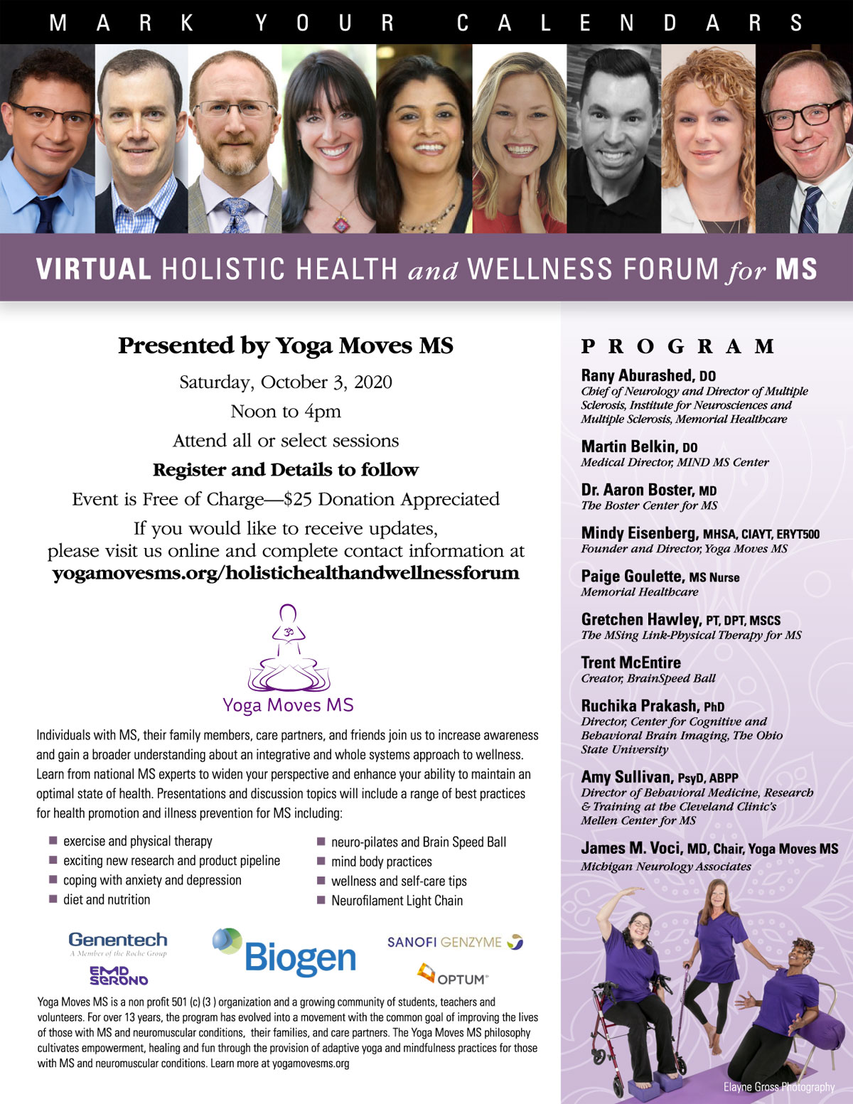 Holistic Health and Wellness Forum for MS