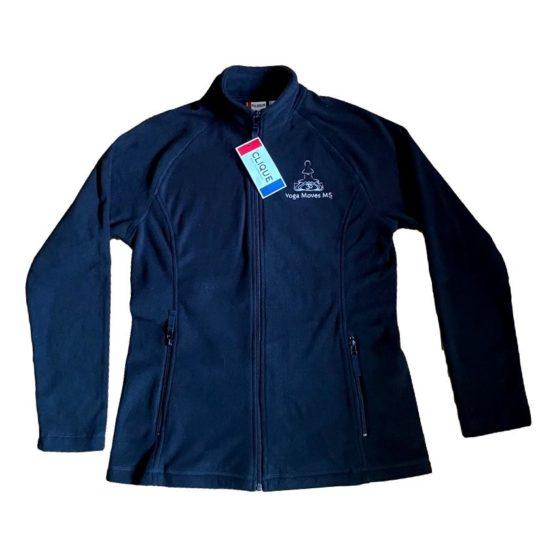 Black Full-Zip Fleece Jacket by Clique