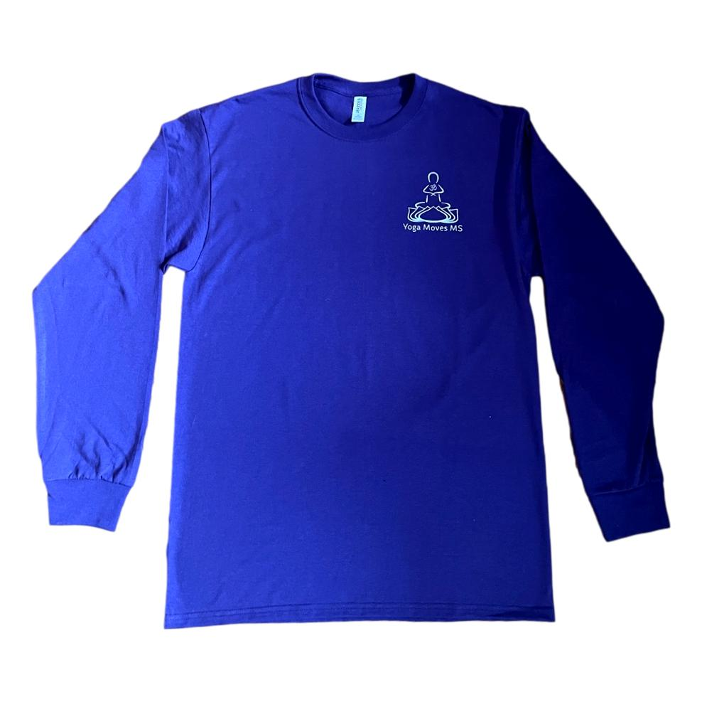 Purple Crewneck Long Sleeve T-Shirt
