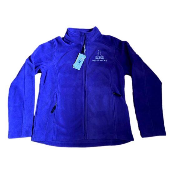 Purple Full-Zip Fleece Jacket by Core