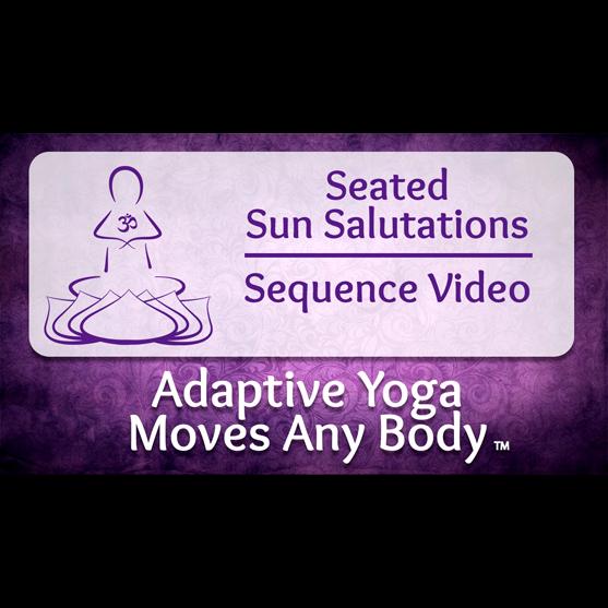 Seated Sun Salutations Video