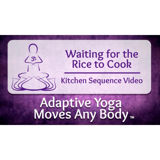 Waiting For The Rice To Cook Kitchen Yoga Sequence Video