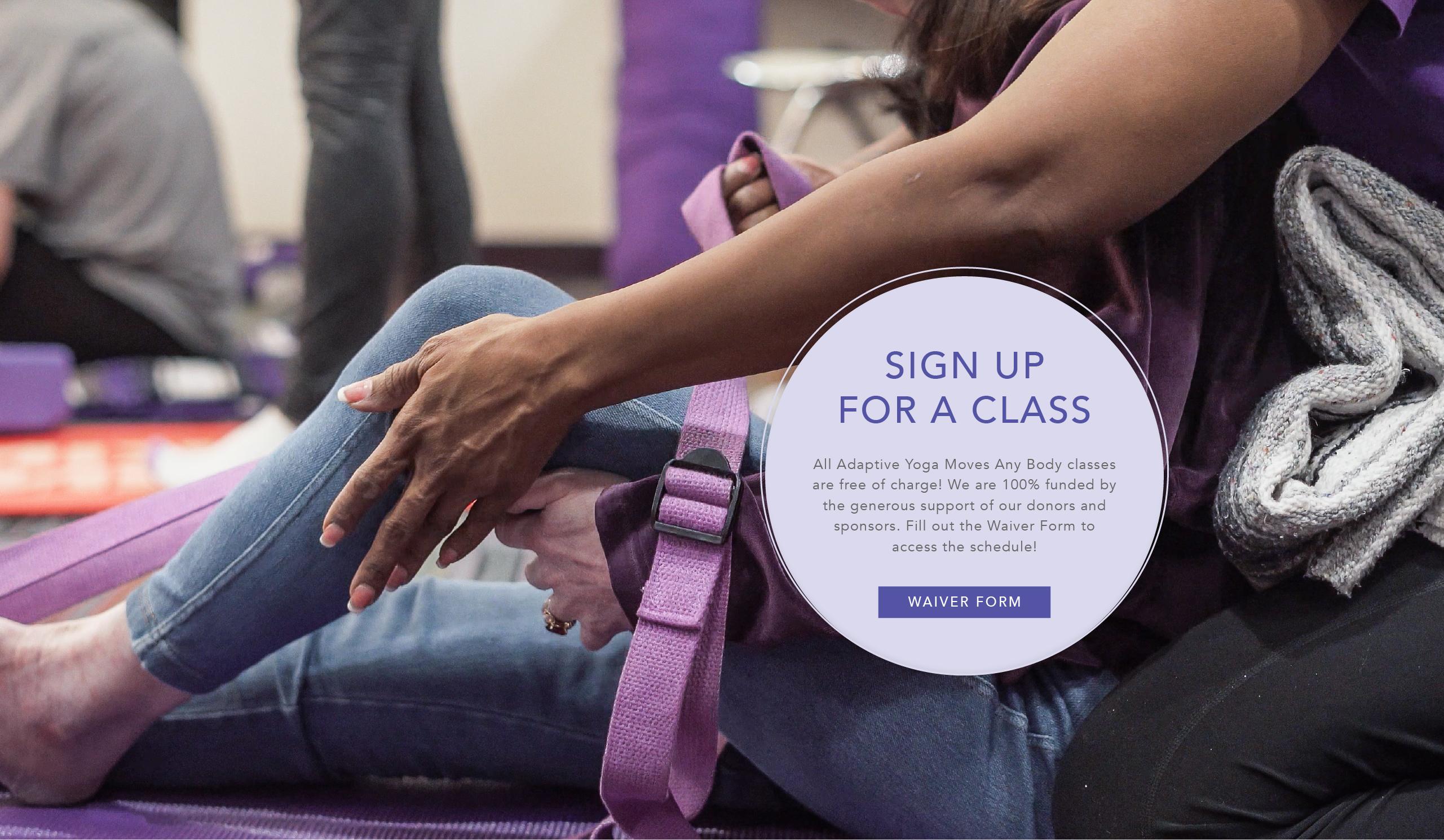Adaptive Yoga Moves Any Body Classes